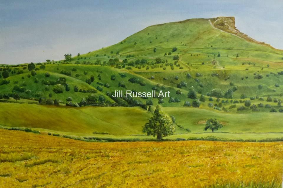 Roseberry Topping Jill Russell Art Northamptonshire